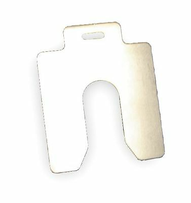 Maudlin Products Slotted Shim, C-4x4 Inx0.010In, Pk20 - MSC010-20