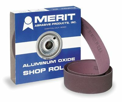 "Merit Abrasive Roll, 2"" W x150 ft. L, 80G, Cloth - 08834191523"
