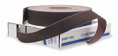 "Merit Abrasive Roll, 2"" W x150 ft. L, 120G, Cloth - 08834191524"