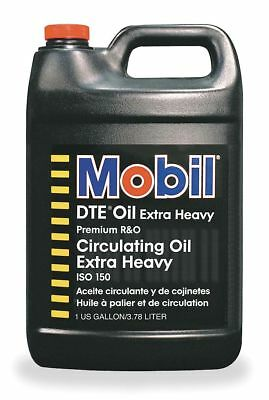 Mobil DTE Oil Extra Heavy, Premium Circulating Oil, 1 gal. Container Size -