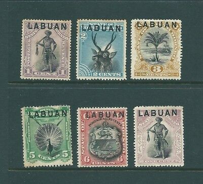 LABUAN mint Queen Victoria stamp collection