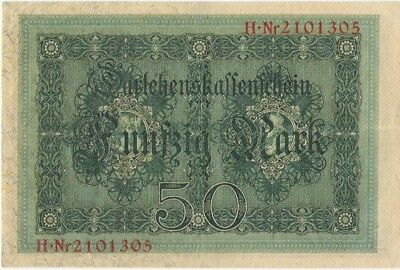 Vintage German Bank Notes, Marks, Paper Money Lot of 3 (1914)(Uncirculated)