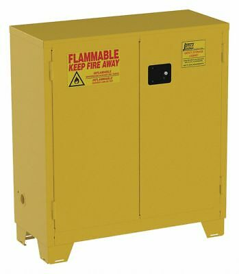 JAMCO FS30 Flammable Safety Cabinet 30 Gal. Yellow
