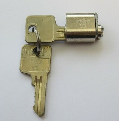 Lista Replacement Lock Key Core with 2 Keys YNSX33 - Same as 2C Core