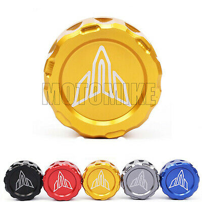 CNC Rear Brake Reservoir Fluid Cover Cap Fits Yamaha MT-07 FZ09 FZ-07 MT-09 FZ09