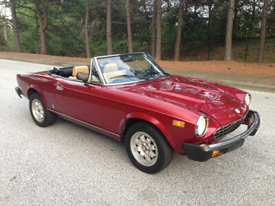 FIAT 124 Spider 124 Spider 2000 Convertible 1982 Fiat 124 Spider Convertible 2000cc RARE Automatic Transmission New Top