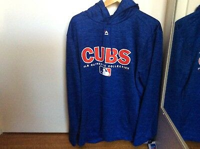 Men's Chicago Cubs Majestic Royal Authentic Collection Team Drive (Large)