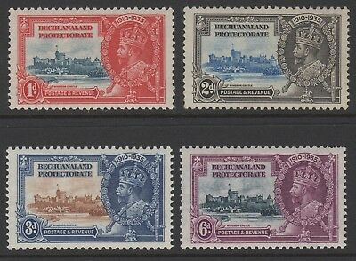 Betchuanaland Protectorate > Scott 117-20 MH - KGV Silver Jubilee Issue
