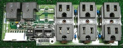 Avaya Power Outlet Board 05145967-1060 05146025 For PW9125 Back Up Power Supply