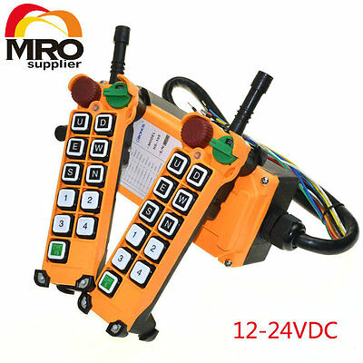 12-24VDC 10 Channels 1 Speed  Hoist Crane Truck Radio Remote Controller