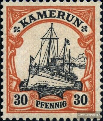 Cameroon (German. Colony) 12 used 1900 Ship Imperial Yacht Hohe