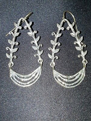 7be55299f0c5e NOA ZUMAN ISRAEL 925 Fine Sterling Silver Earrings- NWT