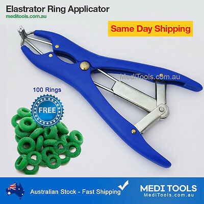 Elastrator, Sheep Castration, Rubber Ring Applicator, Castrator, Docking, Rings