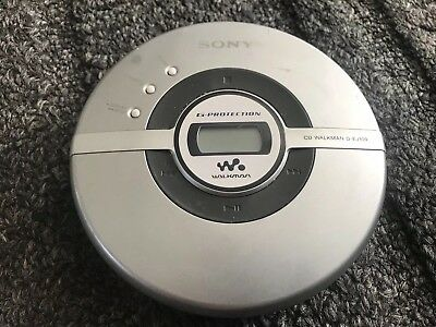 Sony Portable CD Player Model No. D-EJ109