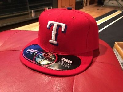 the best attitude 500c5 44897 NWT Texas Rangers MLB 59fifty 5950 New Era fitted hat cap size 7 1 8