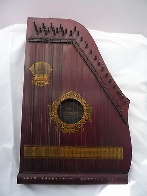 Harp Oscar Schmidt Chickering Harp Special Hudson Fulton with Tuning Key & Rack