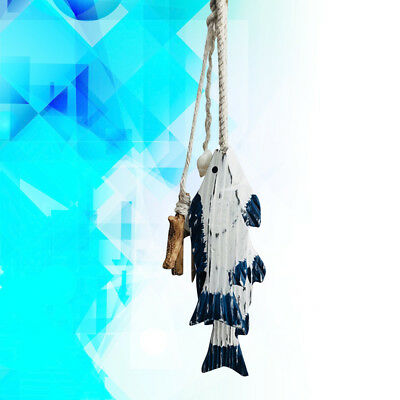 1pcs Fish Pendant Mediterranean Style Fish Wall Decors for Home Decorations Wall