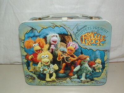 1984 THERMOS brand TIN-LITHO ( FRAGGLE ROCK  )  LUNCHBOX ONLY