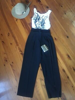 Vintage High Waisted Coachella Business Festival Palazzo Pants Trousers
