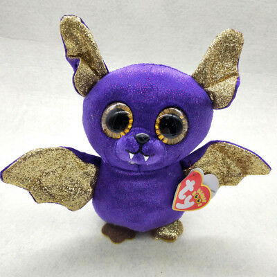 "Count Ty Beanie Boos 6"" Stuffed Plush Kids Toy Halloween Soft Plush Dolls Gift"