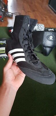Adidas boxing boots size 10
