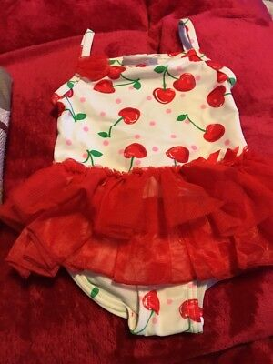 Baby Girl Swimsuit Newborn To 3 Months