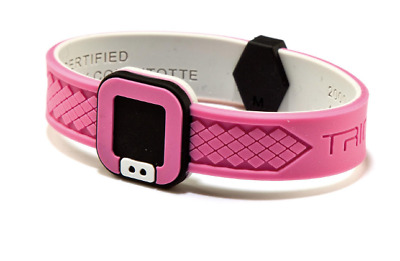 New Trion Z Ultra Loop Ionic/Magnetic Bracelet Size Medium Pink RRP £49.99