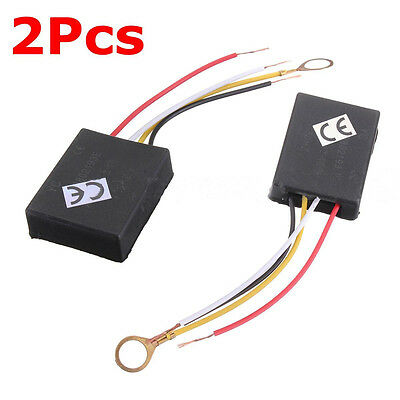 2x 3 Way Touch Light Sensor Switch Control For Lamp Desk Bulb Dimmer Repair Ej