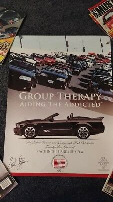 Saleen Group Therapy Aiding the Addicted Ford Mustang Poster
