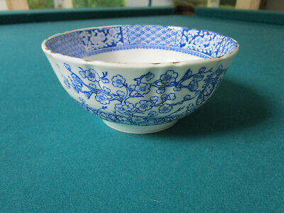 "Antique Chinese Rice Bowl 2 1/2 X 6"" {*#91]"