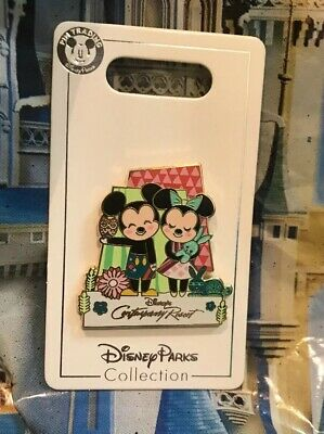 Disney Mickey And Minnie Contemporary Resort 2018 Pin OE NEW