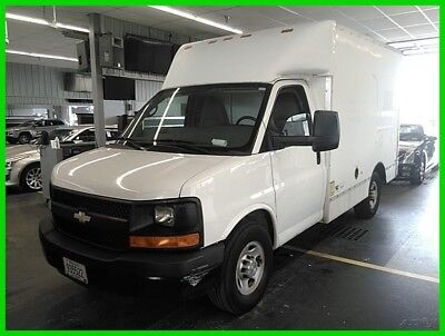 Chevrolet Express Work Van 2010 Chevy Express BOX TRUCK with only 13k actual miles WOW