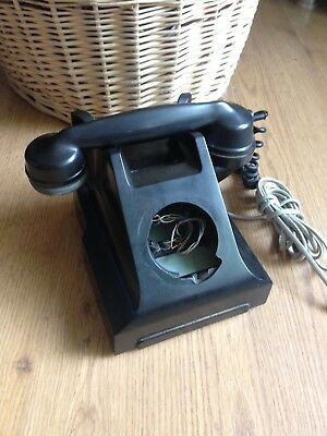 Vintage Bakelite 312L GPO telephone for spares