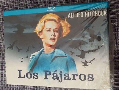 Los Pajaros Deluxe Box Bluray + Camiseta + Poster + 8 Postales New Sealed Nueva