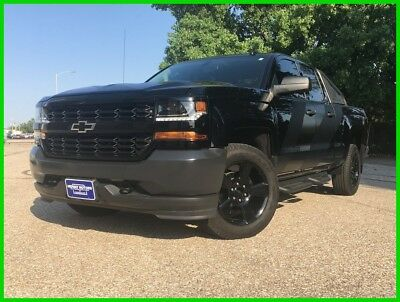 Chevrolet Silverado 1500 WT 2016 Chevrolet Silverado 1500 Double Cab Special Ops Edition Black out Edition