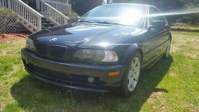 2002 BMW 3-Series Base Coupe 2-Door 02 BMW 325 COUPE. GOOD CONDITION. READY TO DRIVE. NO RESERVE!!