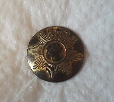 Early Volunteer Button. Manchester And Salford Vol Inf