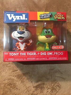 Funko Vynl TONY THE TIGER & DIG EM FROG Target EXCLUSIVE 2 Pack IN HAND