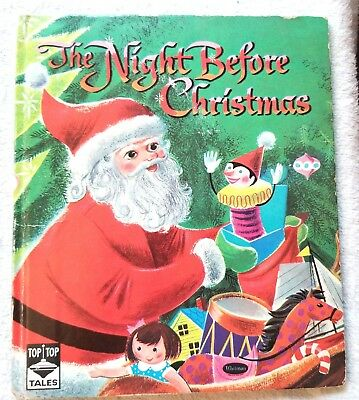 The Night before Christmas. 1955. Whitman, WI. Illustrator. Charles Clement
