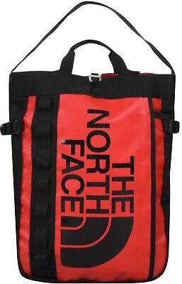 e48171546 ZAINO THE NORTH Face borsa base camp tote backpack bag rosso red ...