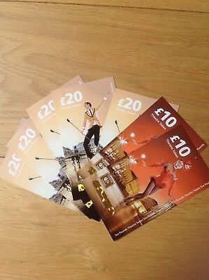 Theatre Tokens / vouchers  Worth £120 Use Anywhere