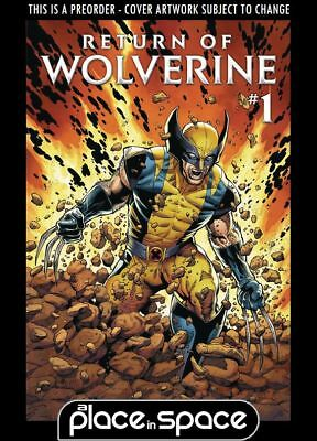 (Wk38) Return Of Wolverine #1A - Preorder 19Th Sep