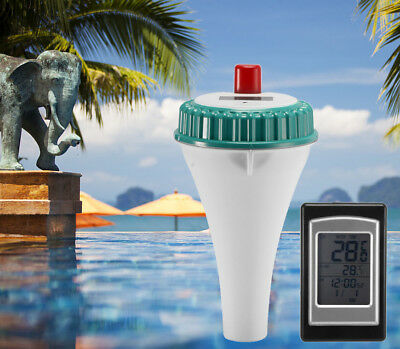 Wireless Remote Floating Swimming Pool Thermometer Spa Water Temperature Tester