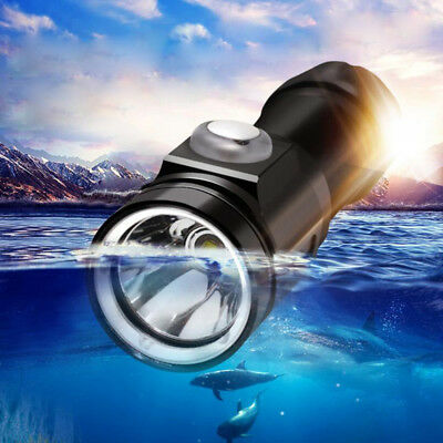 5 Modi T6 LED wasserdicht Tauche Tauchlampe Tauchen Flashlight Torch bis 100m