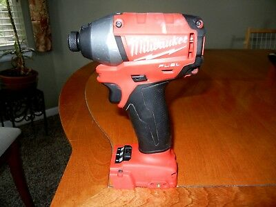 Milwaukee M18 Fuel 1/4 Impact Driver #2653-20 Free Shipping!!!