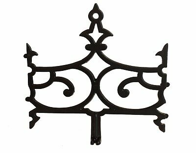 antique vintage iron widow's walk panel - multiple available