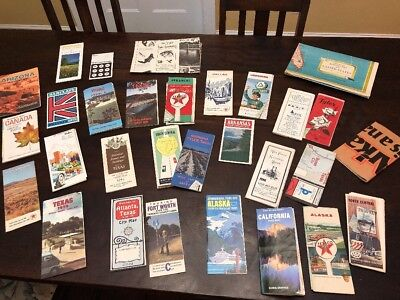 Lot 30 Vintage Travel Brochures Attractions Maps Italy 1970's