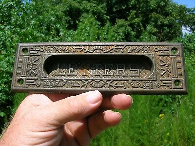 Rare Vintage Antique Iron Mailbox Mail Letters Slot Windsor by Reading Hardware