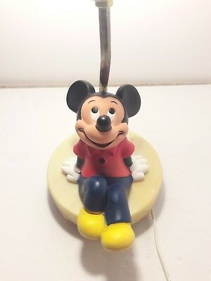 Vintage disney mickey mouse lamp working no shade 2998 picclick vintage 1981 disney mickey mouse lamp in working condition no shade aloadofball Images