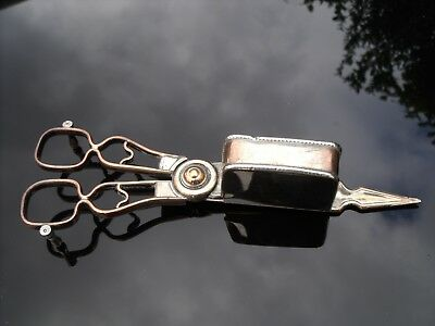 Antique Victorian Silver Plated Candle snuffer.